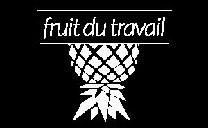 Logo Fruit du Travail - blanc